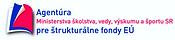 Agentúra Ministerstva školstva, vedy, výskumu a športu SR pre štrukturálne fondy EÚ, logo